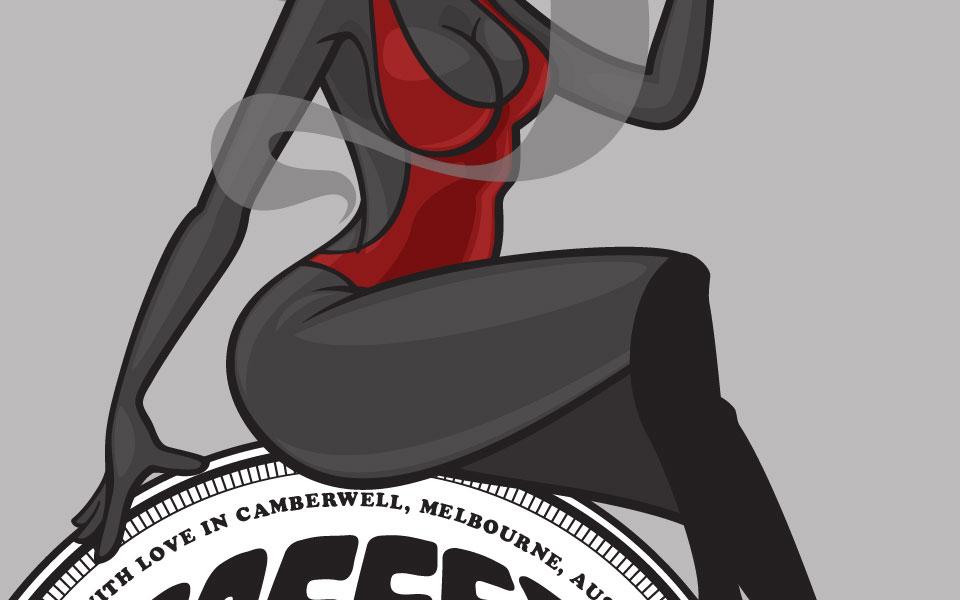 Mascot made for CoffeHead Australia.